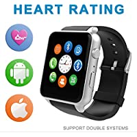 SuperWatch GB-88 Smart Watch Bluetooth NFC Connectivity Sports Watch With Heart Rate Monitor Touch Screen And...
