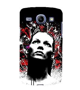 printtech Girl Look Pattern Back Case Cover for Samsung Galaxy J2 / Samsung Galaxy J2 J200F