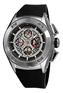 Cvstos Men's CVCRRNSTSV Challenge-R Chrono Steel Watch