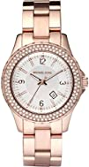 Michael Kors  Quartz Classic Rose Gold with White Dial Womens