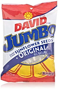 David Jumbo Sunflower Seeds, Original, 6 Oz
