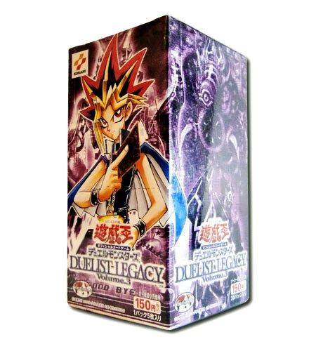 遊戯王 日本語版 Duelist Legacy デュエリストレガシー Volume.3 ブースターパック