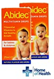 Abidec Multivitamin Drops for Children and Babies- 2 Pack