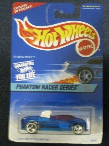 Mattel Hot Wheels Phantom Racer Series Power Pipes 3 of 4 531 - 1