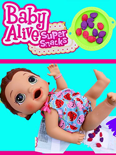 Baby Alive NEW 2016 Snackin' Lily Eats Play Doh & Gross Poop Diaper Change