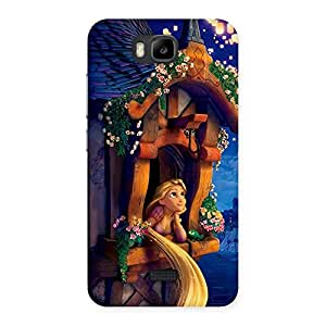 Ajay Enterprises Eli Angel Thinking Multicolor Back Case Cover for Honor Bee