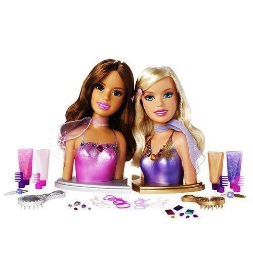 Mattel Barbie Fashion Fever Styling Heads