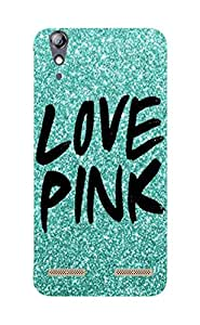 Back Cover for Lenovo A6000 Love Pink