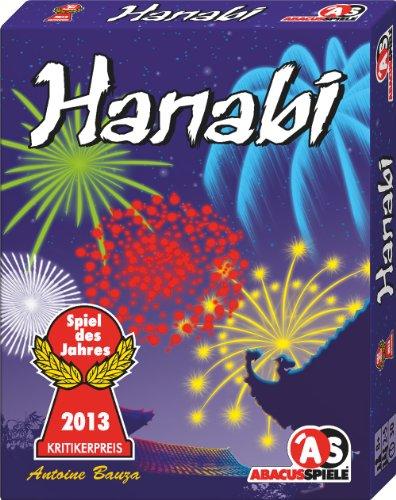 Günstige ABACUSSPIELE 08122 - Hanabi von Antoine Bauza, Spiel des Jahres 2013