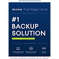 Acronis True Image Cloud 2016 3 PCs and 10 Devices