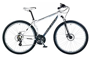 Coyote Men's Everglades 21 Speed Hardtail Mountain Bike - White/Black, 29 Inch (Old Version)