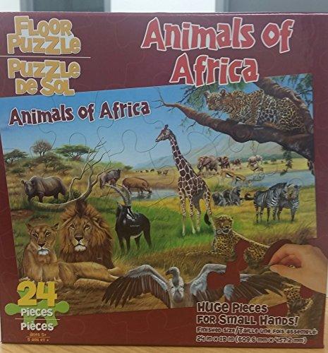 Dalmatian Press Floor Puzzle Animals of Africa - 1
