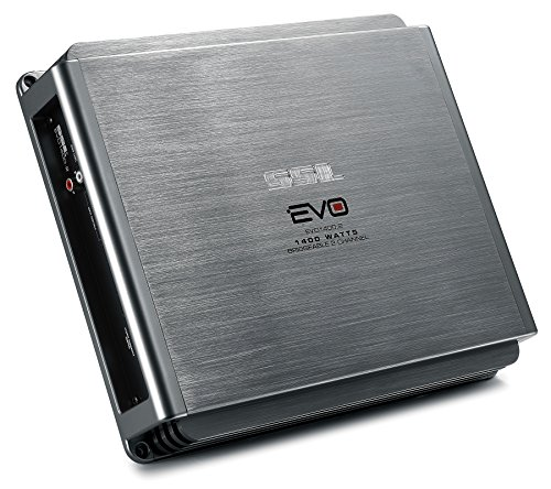 Ssl Evo1400.2 - 2 Channel, 1400 Watt, Full Range, Class A/B, 2-8 Ohm Stable Amplifier With Remote Subwoofer Level Control