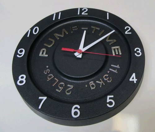 Pump time clock - Giant stopwatch wall clock ...