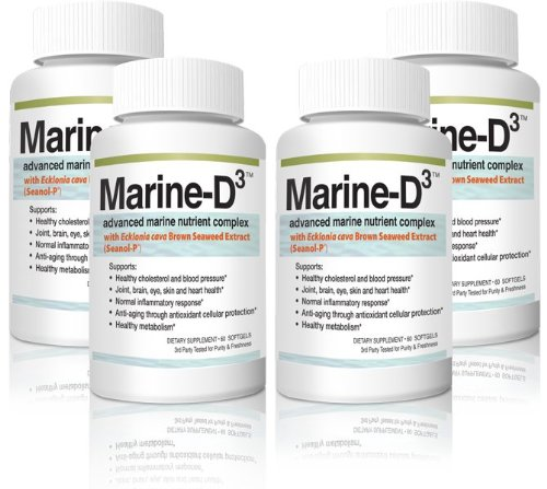 Supply of Supplements By Marine Essentials With Calamarine, Seanol P