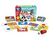 Orchard Toys Collection Bumper Pack 4 Games in 1 Spotty Dogs Quak Quak Farm Snap & Number Snake