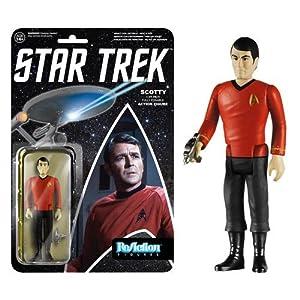 Star Trek Scotty ReAction 3 3/4-Inch Retro Action Figure