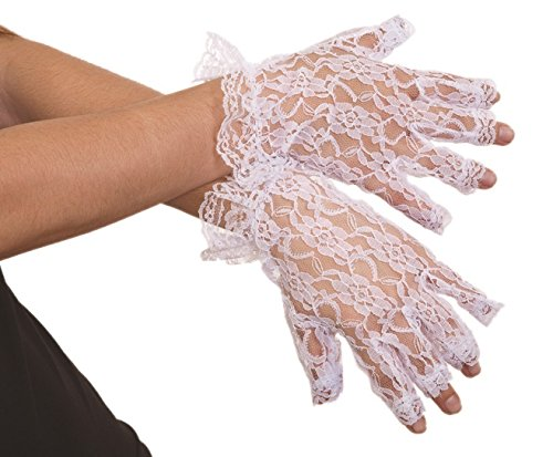 Jacobson Hat Company Women's Adult Lace Half Finger Gloves
