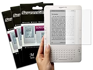 (3 Packs) MyGift Clear LCD Screen Protector for Amazon Kindle 2 E-Book Reader