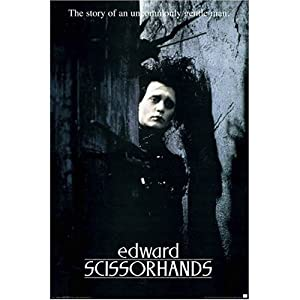 Edward Scissorhands Movie Poster Prints Posters Prints