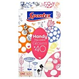 Spontex Disposable Handy Gloves One Size 40 per pack