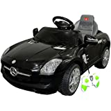FDS Mercedes Licensed Children Ride On Car with Remote Control Toy Car