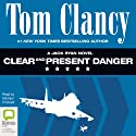 Clear and Present Danger: Jack Ryan Audiobook by Tom Clancy Narrated by Michael Prichard