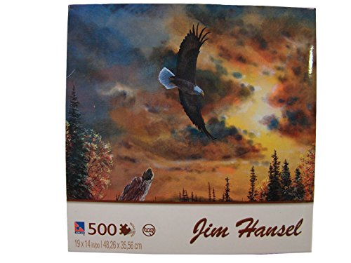 Jim Hansel 500 Piece Jigsaw Puzzle: Watchful Eyes
