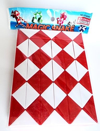 80s Party Decoration - Magic Snake Puzzle - 82cm long. This is a great idea for rekindling some childhood memories, and this addition to the table will provide extra retro entertainment for your party guests - eighties style!