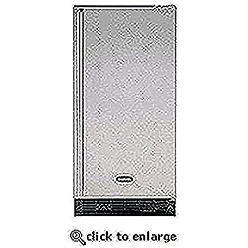 Ada Height Clear Ice Maker Cabinet Finish: White, Hinge: Left, Door Finish: White Overlay Door front-614846