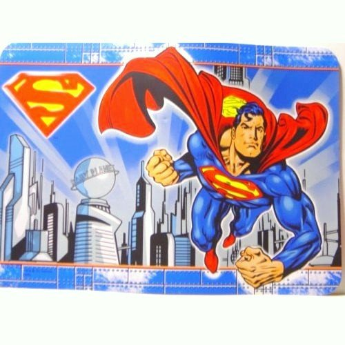 Superman Vinyl Placemat