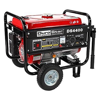 DuroStar RV Grade 4400 Watt 7.0 Hp Gas Generator