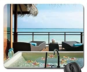 Amazon.com : LUX Maldives Water Bungalow Spa Bath Mouse Pad, Mousepad