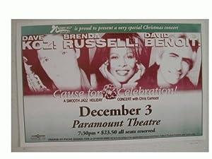 Dave Koz Brenda Russell David Benoit handbill Poster