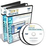 YouTube for Business Tutorial Training plus Tiger Affiliate Marketing Training on 2 DVDs