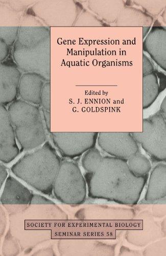 Expresión génica y manipulación en los organismos acuáticos (sociedad para la serie de seminarios de Biología Experimental)