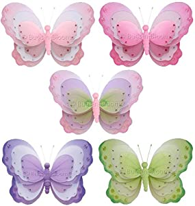 "Amazon.com - Butterfly Decorations 7"" Small Triple Layered ..."