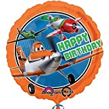 Anagram International HX Disney Planes Happy Birthday Party Balloons, Multicolor