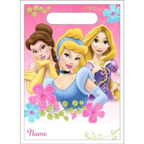 Disney Fanciful Princess Treat Bags Party Accessory