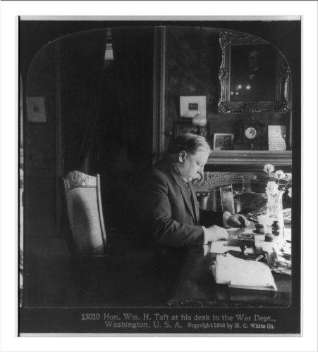 Historic Print (L): [William Howard Taft, half length, seated, right profile ... (William Howard Taft Profiles Of compare prices)