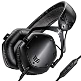V-MODA Crossfade LP2 Limited Edition Over-Ear Noise-Isolating Metal Headphone (Matte Black)