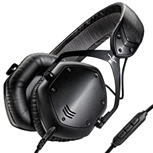 V-MODA Crossfade LP2 Limited Edition Over-Ear Noise-Isolating Metal Headphone (Matte Black) (OLD MODEL)