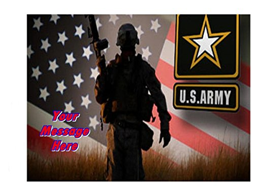US Army Edible Image Sheets Cake Toppers (Frosting Sheet) US SELLER
