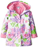 Hartstrings Girls 2-6X Floral Hooded Raincoat