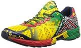 Asics T408N Men's GEL-NOOSA TRI 9 Running Shoes, Citrus Yelw/Rd Ppr/G, 8/ UK:SIZE 7