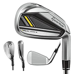 TaylorMade Men's Rocketbladez Iron Set, Right Hand, Graphite, Regular, 5-PW