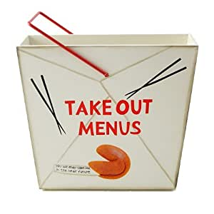 Amazon.com: Chinese Food Carton Take Out Menu Holder