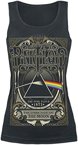 Pink Floyd Dark Side - 1973 Top donna nero S