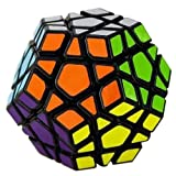 2015 New Yj Yuhu Megaminx Magic Cube Speed Cube Yongjun Cube Black