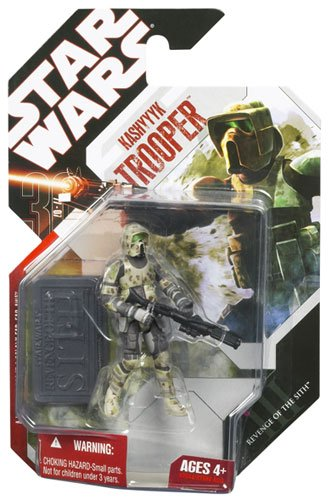 Star Wars Saga 2008 30th Anniversary Wave 1 Action Figure Kashyyyk Trooper